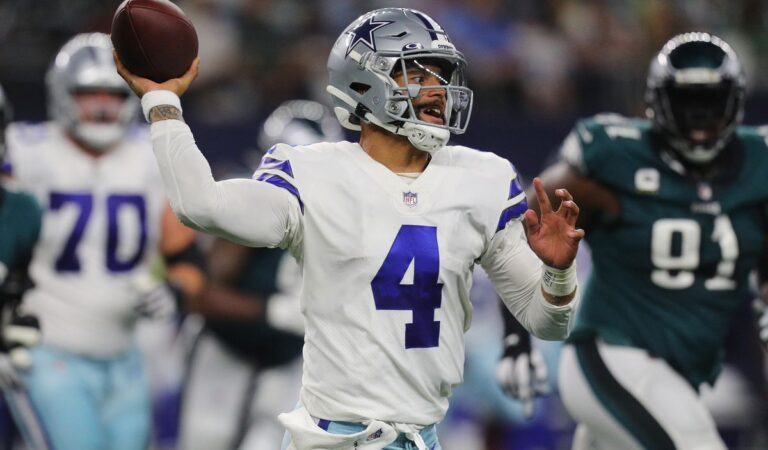 Dallas Cowboys aplastan y no le tienen piedad a los Eagles