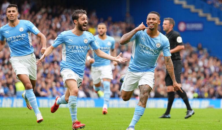 Gabriel Jesús y Manchester City termina con el invicto de Chelsea en Stamford Bridge