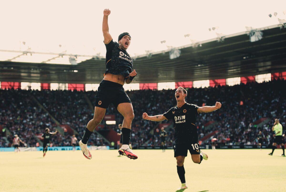 Raúl Jiménez se encuentra con el gol y le da la victoria a Wolverhampton en Southampton