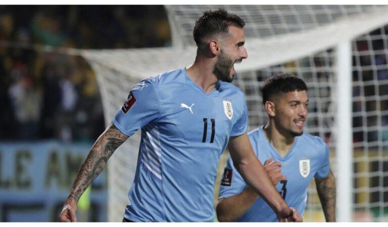 Uruguay sobre la hora derrota a Ecuador en la Eliminatorias