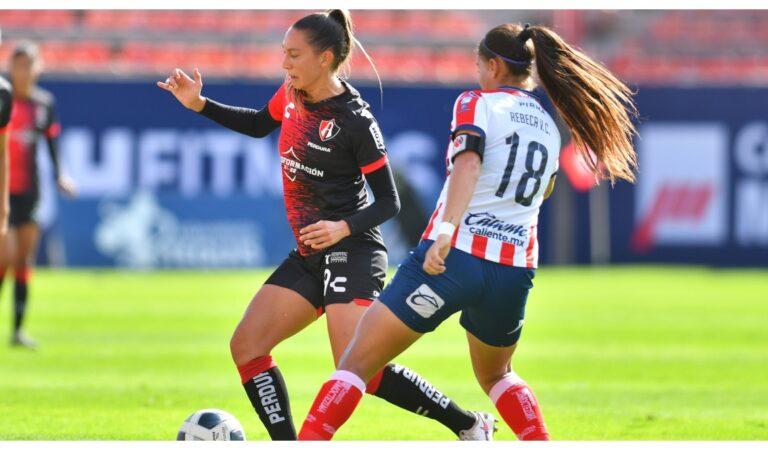 Atlas Femenil y Atlético de San Luis se reparten puntos antes del parón por fecha Fifa