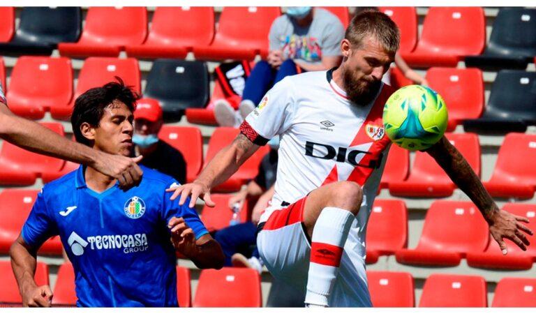 JJ Macías jugó medio tiempo en la derrota del Getafe en LaLiga