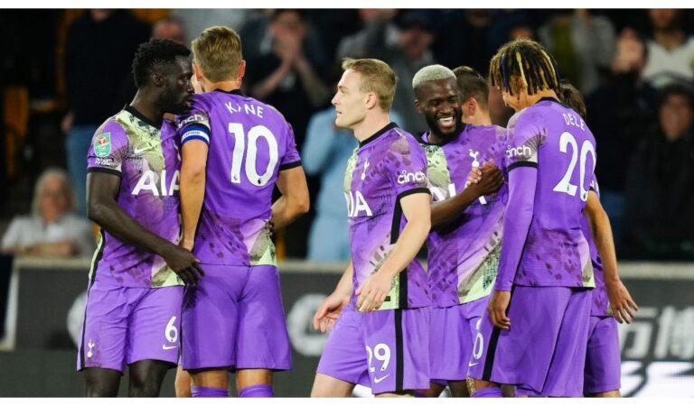 Tottenham vence en penales a los Wolves sin Raúl Jiménez en la Carabao Cup