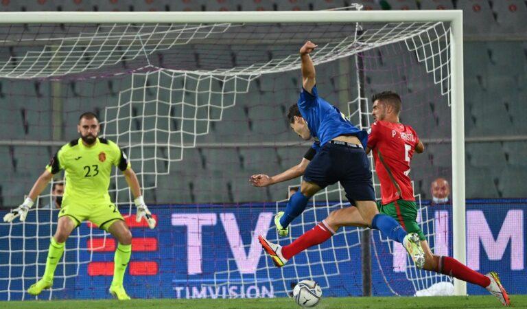 Italia empata ante Bulgaria y pierde paso perfecto rumbo a Qatar 2022
