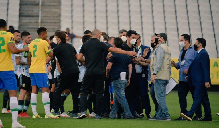 El Brasil vs Argentina fue oficialmente suspendido