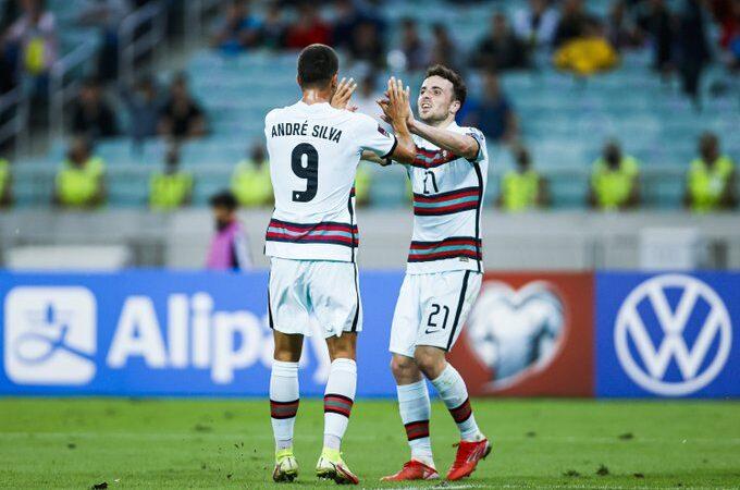 Sin Cristiano Ronaldo, Portugal golea a Azerbaiyán rumbo a Qatar 2022
