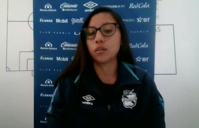"""""""Puebla Femenil no es el mismo de hace dos torneos"""": Dulce Martínez"""