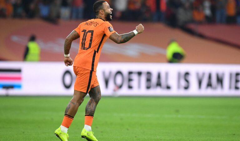 Países Bajos goleó con autoridad a Turquía en las eliminatorias mundialistas Qatar 2022
