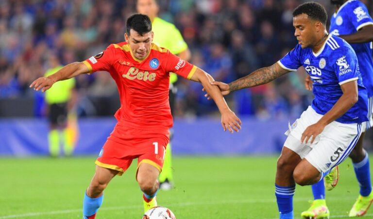 Leicester City y Napoli reparten puntos en emocionante encuentro de Europa League