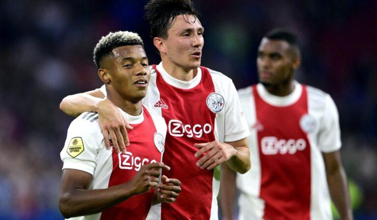 Goleada grande del Ajax en la Eredvisie