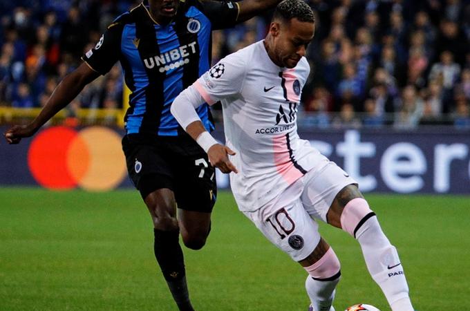 Deslucido debut del PSG en Champions League