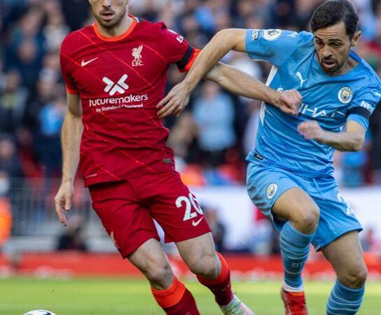 Espectacular empate entre Manchester City y Liverpool