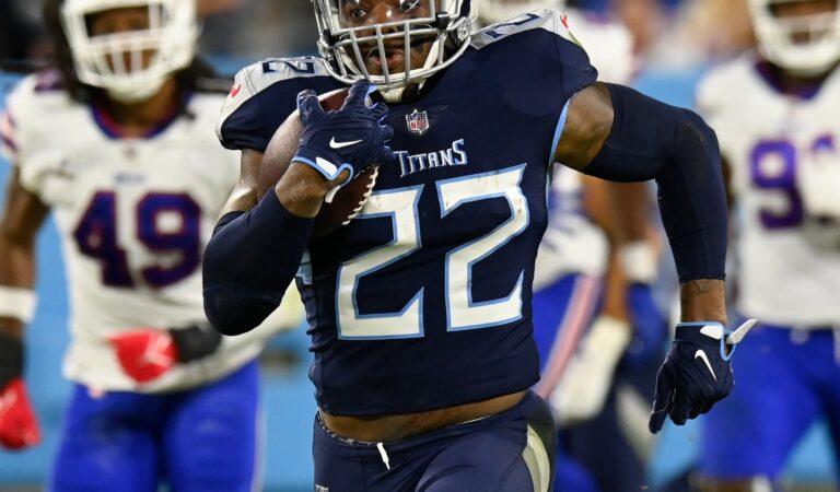 Derrick Henry comanda a Tennessee Titans a la victoria sobre Buffalo Bills