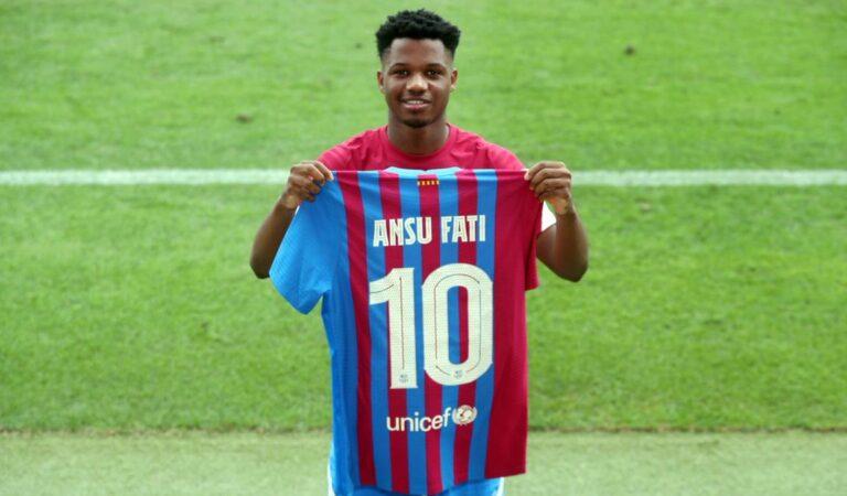 Ansu Fati amarró una renovación de contrato millonaria con Barcelona