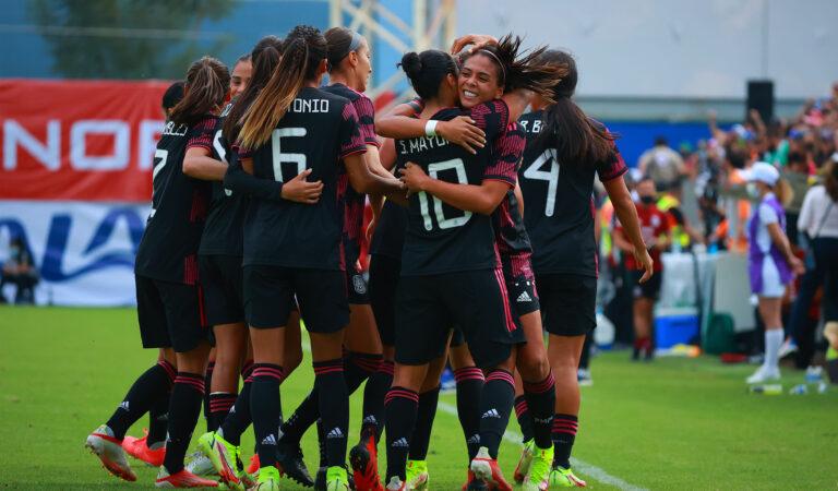La selección mexicana femenil completó una excelente actuación y goleó a Argentina