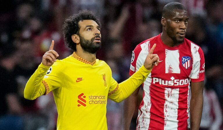 Liverpool derrota al Atlético de Madrid, de la mano de Mohamed Salah