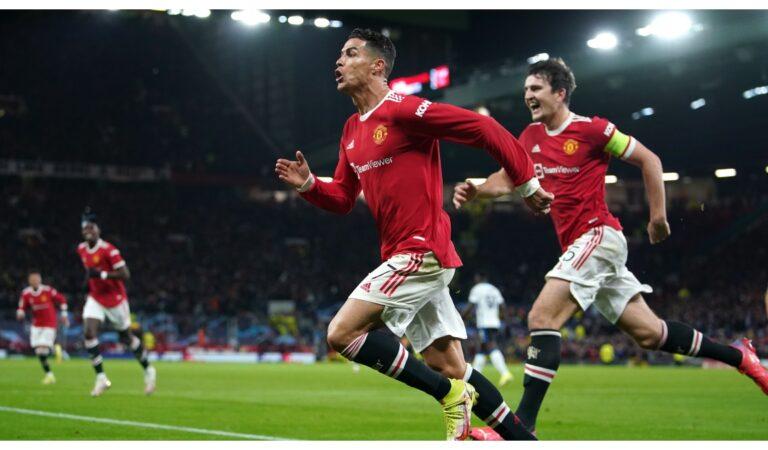 Con gol de Cristiano Ronaldo, Manchester United remonta al Atalanta