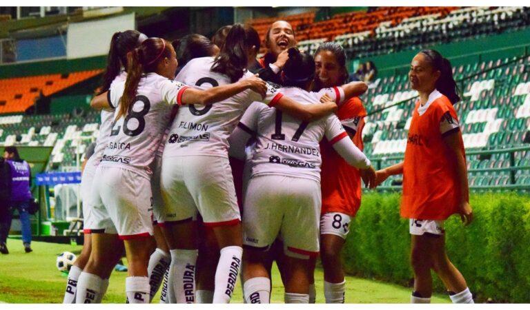 Atlas Femenil derrota a León y mantiene la buena racha en la Liga MX Femenil