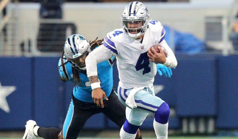 Dallas Cowboys acaban con el invicto de los Panthers